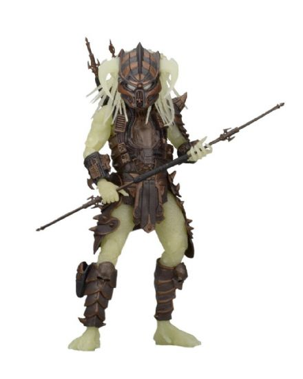 "Neca Series 16 Predator 7"" Scale Action Figure - Glow in the Dark Stalker Predator"